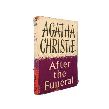After The Funeral by Agatha Christie First Edition The Crime Club Collins 1953